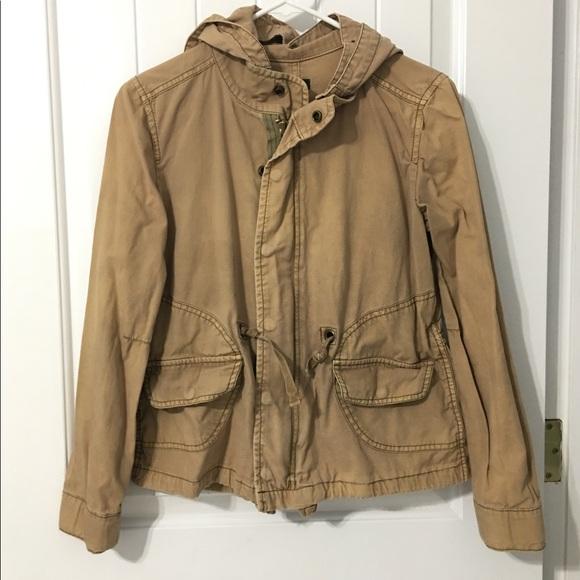 J. Crew Jackets & Blazers - J. Crew Khaki Utility Jacket